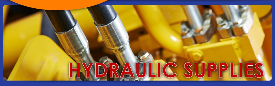 hydraulic supplies | close up of hoses on construction equipment
